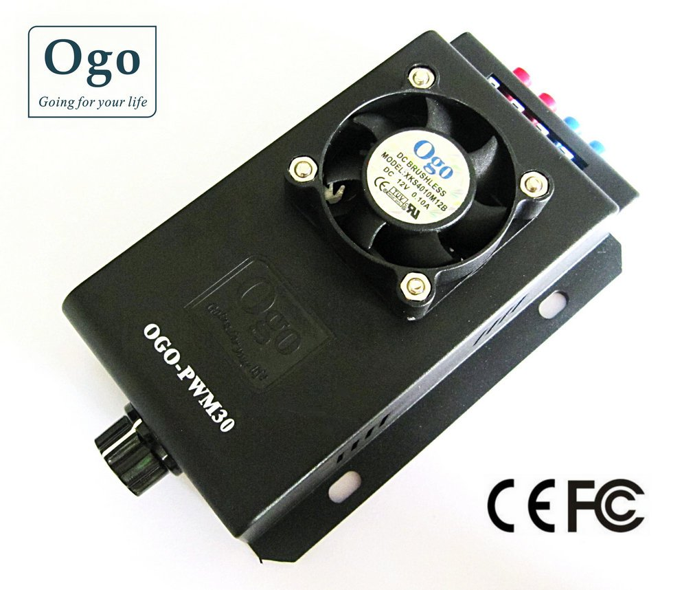 High Quality 12/24V 30A HHO PWM (OGO-PWM30)  CE and FCC Approval turbine