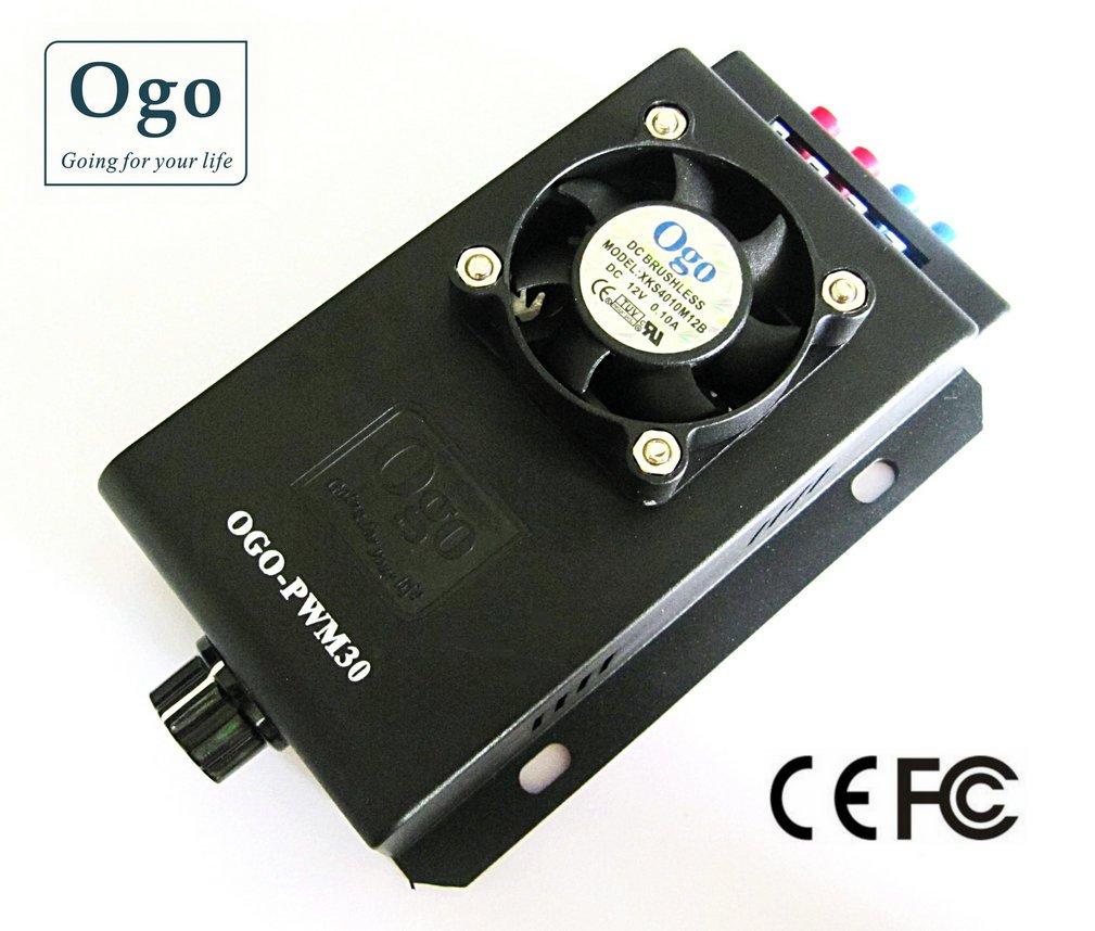 Alta qualidade 12/24 v 30a hho pwm (OGO-PWM30) ce e aprovação fcc