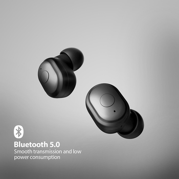 AUSDOM TW01 TWS Wireless Bluetooth Earphone 20H Play Time Wireless Headphone CVC8.0 Noise Cancelling Sport Earbuds With Dual Mic 1