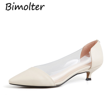 Bimolter Women Pumps 2019 Transparent High Heels Sexy Pointed Toe Slip-on Wedding Party Shoes For Lady Comfortable Shoes NC044 kjstyrka women pumps 2018 autumn shoes transparent 10cm high heels sexy pointed toe slip on clear party dress shoes for lady