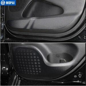 Image 3 - MOPAI ABS سيارة الداخلية الباب مكافحة ركلة والعتاد التحول لوحة حامل الكأس الكسوة ملصق ل جيب جراند شيروكي 2011 حتى سيارة التصميم