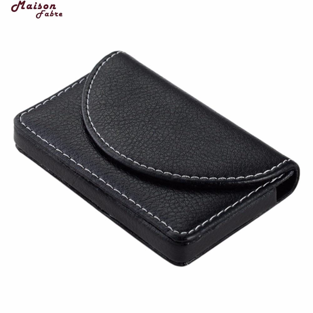 Maison Fabre plånbok män läder plånbok män äkta läder - Plånböcker - Foto 4