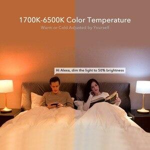 Image 5 - מקורי Yeelight LED חכם הנורה צבע/לבן גרסאות 800 Lumens 10W E27 לימון RGB אור Mi בית APP גוגל עוזר שליטה