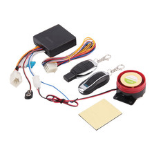 12v Universal Motorcycle Motorbike Scooter Compact Security Alarm System Remote Control Engine Start for Suzuki for Honda