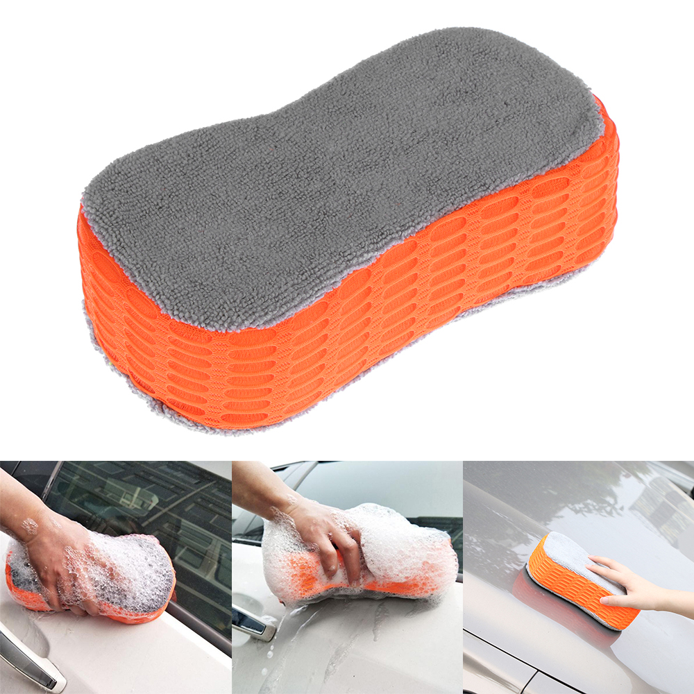 Car Wash Sponge Bone Design for Polishing Porous Car Wash Brush Cleaning Tool for Car Window Body Accessories Sponges & Mitts Exterior Care