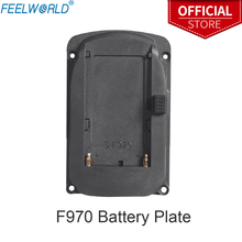 Batterij Plaat Voor Feelworld FW760 FW759 FW1018S A737 Etc Camera Veld Monitoren En F970 F960