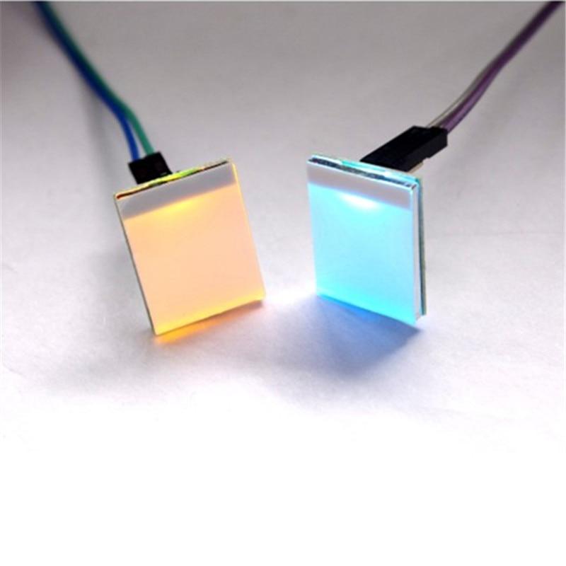 RGB емкостный сенсорный выключатель, синий/красный/зеленый/желтый светодиодный сенсорный модуль, сделай сам, электронный 2,7 в-6 в, сильное пом...