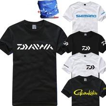11 видов стилей 2018 рыболовная футболка Dawa Daiwa плюс размер рыболовная одежда с коротким рукавом быстросохнущая дышащая одежда от солнца