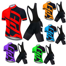 купить 2019 TEAM SPECIALIZEDING Cycling clothing 9D Gel pad Shorts Bike Jersey set Ropa Ciclismo Mens pro Maillot Culotte clothing онлайн