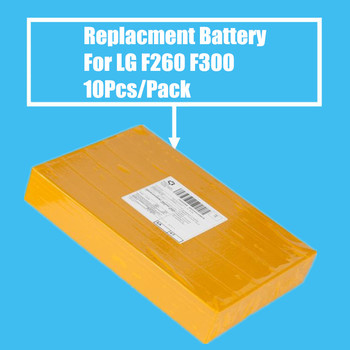 10Pcs/Pack Replacement Battery 2540mah Battery For LG F260 F300 F260S 260K 260L 410S LTE3 US780 L90 F7 High Quality