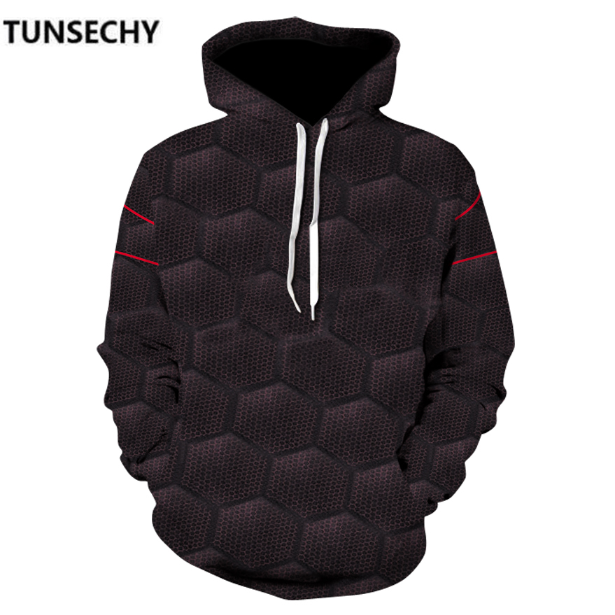 TUNSECHY Brand Men's Hoodies clothing the avengers alliance 3 iron man 3D Digital printing Sweatshirts Free transportation