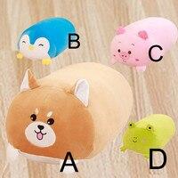 Lowest Price Drop Shipping Chubby cute Pillow Soft Animal Cartoon Cushion Plush Toy Stuffed Pillow Decoracion Hogar