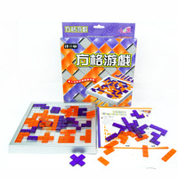 Blokus Board Game Educational Toys 2 Players Game Easy To Play For Children Russian Box Series