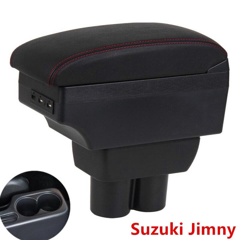 Para Suzuki Jimny caja de reposabrazos Almacenamiento de reposabrazos central para coche accesorios de modificación de caja
