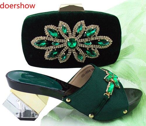 Y En Italiano verde Las Doershow Hh1 Real 39 azul Zapato De 2018 Mujeres plata Nuevo peach Negro magenta Cielo azul Bolsa Zapatos Juego Bolsos oro Zapatos A OwwE0q