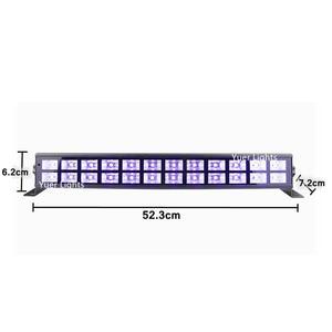 Image 2 - 24 Đèn LED UV Màu Đèn Led Pha Rửa Hiệu Ứng Đèn 90 240V Hoàn Hảo Cho DJ Disco Đèn Gia Đình laser Trang Trí UV Đèn Led Thanh