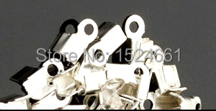 2Jewelry Findings & Components Crimp & End Beads Wholesale jewelry accessories diy embossed velvet rope clip clip 3*8mm thread