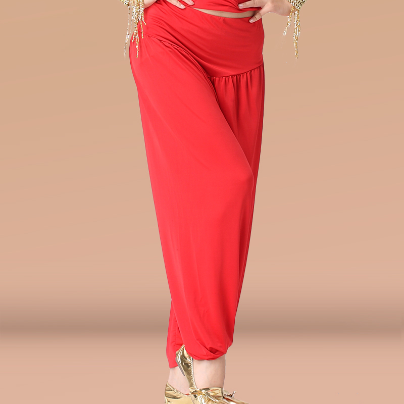 Oriental Belly Dance Flared Pants Yoga Practice Trousers Costumes Dancewear