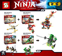Thunder Swordsman SY231 Super Hero Ninja Minifigures Kai Building Block Minifigure Toys Compatible with Legoe