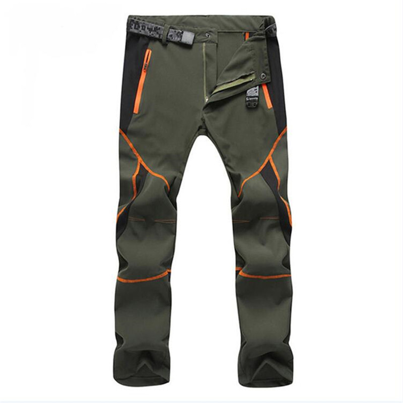 Men's Casual Ultra-Thin Stretch Pants Women Summer Spring Quick Dry Breathable Trousers Joggers Military Waterproof Cargo Pants(China)