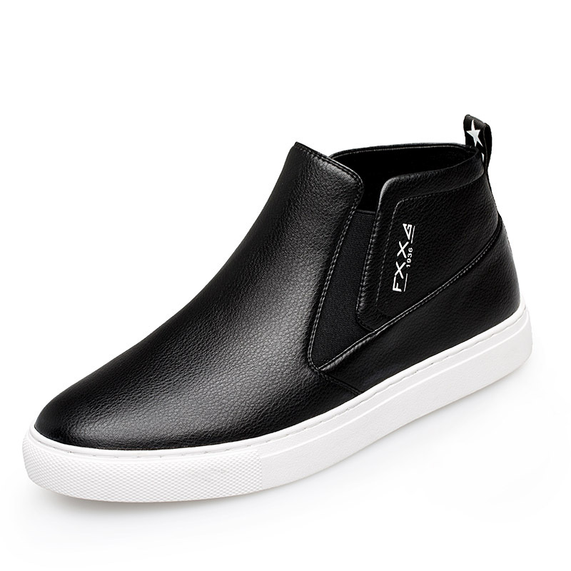 Mens Casual Genuine Leather Shoes Spring Summer Men Flat Walking Loafers Black Man Luxury Slip On Boat Shoes Big Size DA0107 in Men 39 s Casual Shoes from Shoes