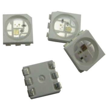 WS2815 LED beads;DC12V input; signal break-point continuous transmission;RGB full color addressable