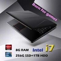 8g ram 256g ssd 15.6 אינץ 4G כרטיס מסך Intel I7-6700HQ מוקדש המשחקים הנייד כרטיס 8G RAM 256G SSD 1TB HDD מחברת HDMI עבור משחק לשכת עבודה (2)
