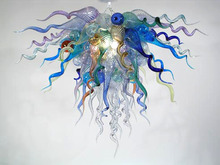 New Arrival LED Designed Murano Glass Style Pretty Colored Ceiling Chandelier for Living Room