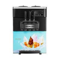 Thuisgebruik Fabriek Prijs van Ijs Maker met Drie Mallen van Zachte Ijs Snack Ice Eten Making Machine