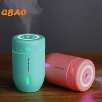 Air Humidifier Ultrasonic Diffuse 5V Touch Button Colorful Led Lamp Aromatherapy Mist Maker Essential Oil Diffuser