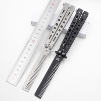 Exercise Knife Butterfly Comb Practice Tools Mini Knife