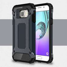 HATOLY For Samsung Galaxy A3 2016 Case A310 Heavy Duty Armor Slim Hard Rubber Cover Silicone Case for Samsung Galaxy A3 2016