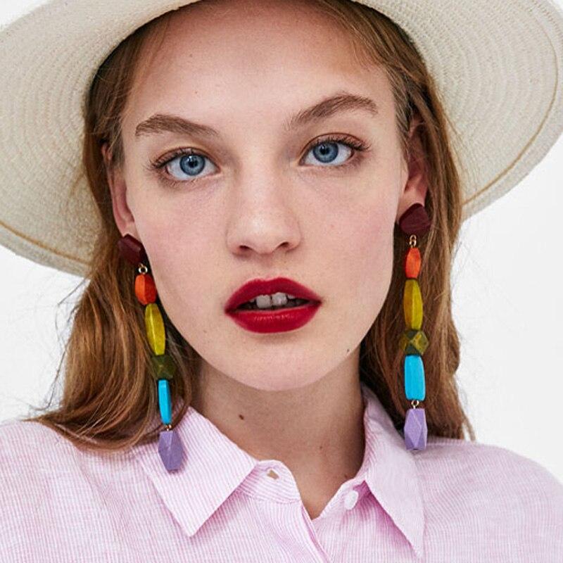 Best lady Bohemian Layers Long Statement Earringss