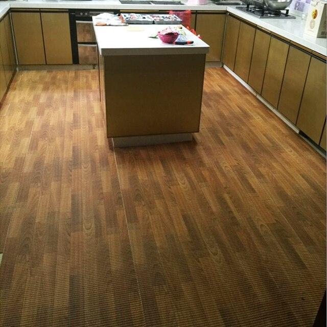 Custom Home Wood Grain Slip Mat Bathroom Carpet Mats Bedroom Living Room Kitchen Plastic Doormat