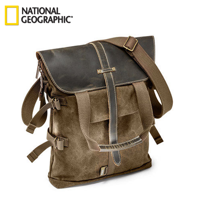 Free Shipping New National Geographic NG A8121 Backpack For DSLR Kit With Lenses Laptop Outdoor Wholesale national geographic kids chapters scrapes with snakes