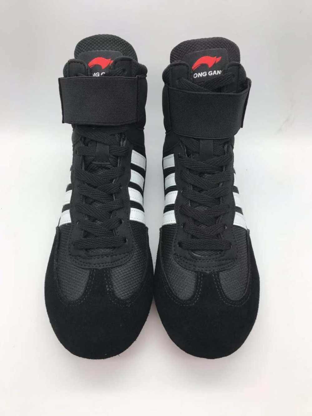 2019 الرجال والنساء أحذية مصارعة المطاط تسولي تنفس أحذية مصارعة النساء المصارعة زي أحذية للمصارعة