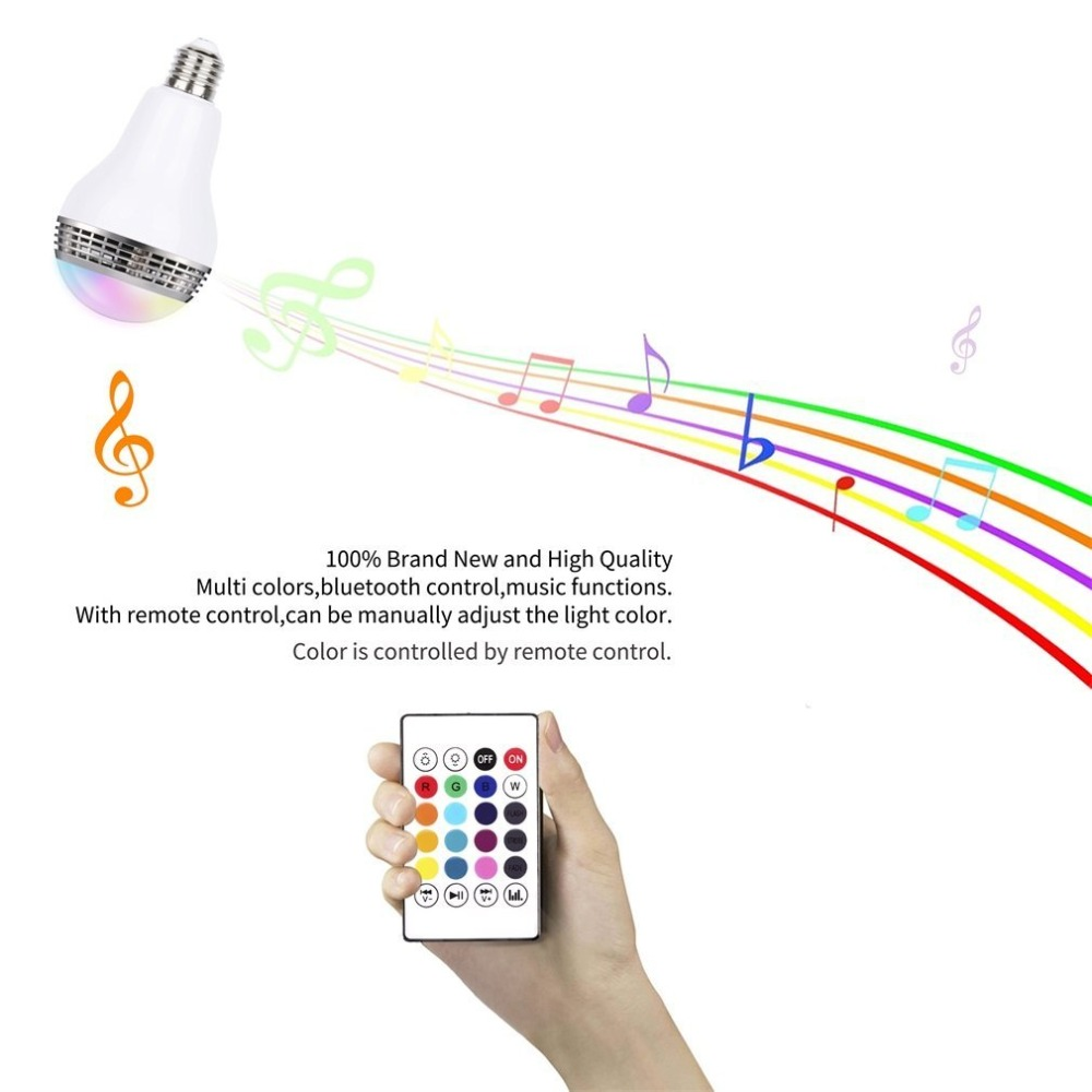 Lâmpadas Led e Tubos ajustável speaker música luzes de Ocasião : Sala de Estar