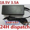 Оригинальное качество 18.5 В 3.5A 65 Вт Универсальный Адаптер ПЕРЕМЕННОГО Зарядное Устройство для HP COMPAQ 610 615 Ноутбук Бесплатная Доставка