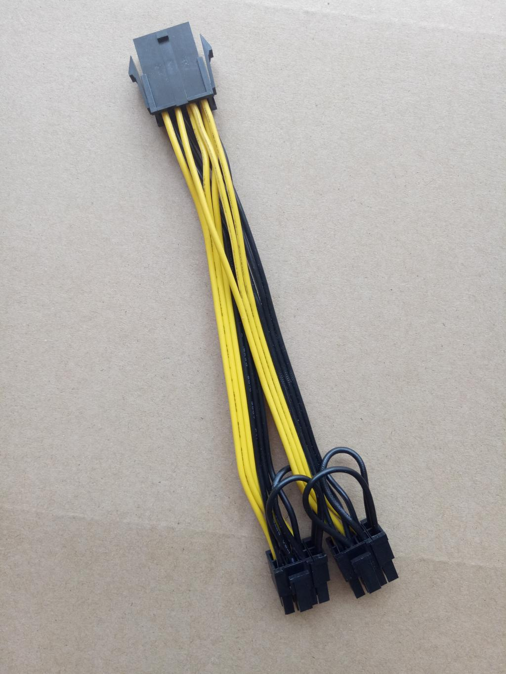 small resolution of 8pin to 2x 8 pin cable wierd cable configuration is this correct tom s hardware forum