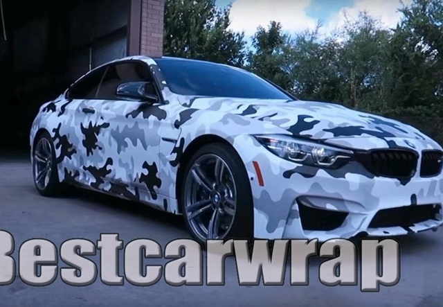 Protwraps large white winter camouflage vinyl graphic decal motorcycle car decals camo vehicle wrap covering foil
