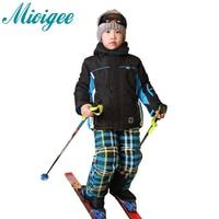 2016 Winter Baby Boys Clothing Set Hooded Coat Winter Jacket Kids Coat For Boys Enfant Ski