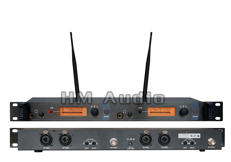 In Ear Monitor Wireless System SR2050 Double Transmitter Monitoring Professional For Stage Performance No Receiver