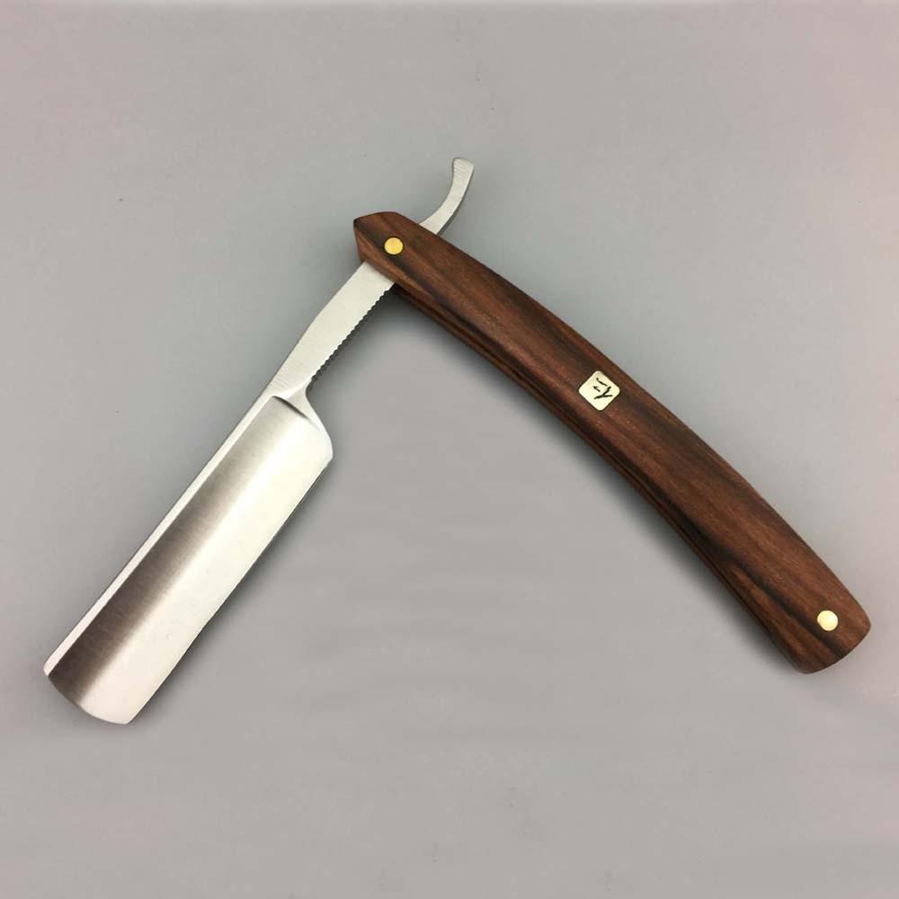 Stainless Steel Straight Edge Classic Barber Razor Folding Shaving Knife Beard Care Tool цена