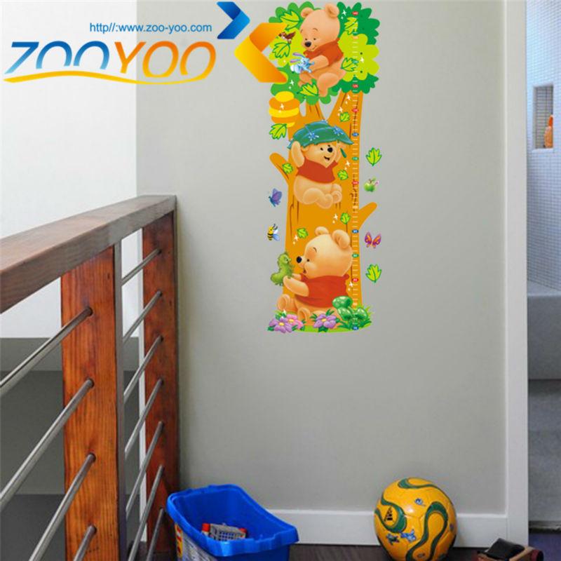 HTB1fYYPKpXXXXXSXVXXq6xXFXXXo - Animals zoo cartoon Winnie Pooh wall sticker for kids room