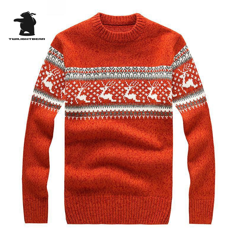 New Mens Ugly Christmas Sweater Multicolor Fashion Wool Cowl Neck Sweater For Men Sweaters Pull Homme 5 Colors BF7721 ...