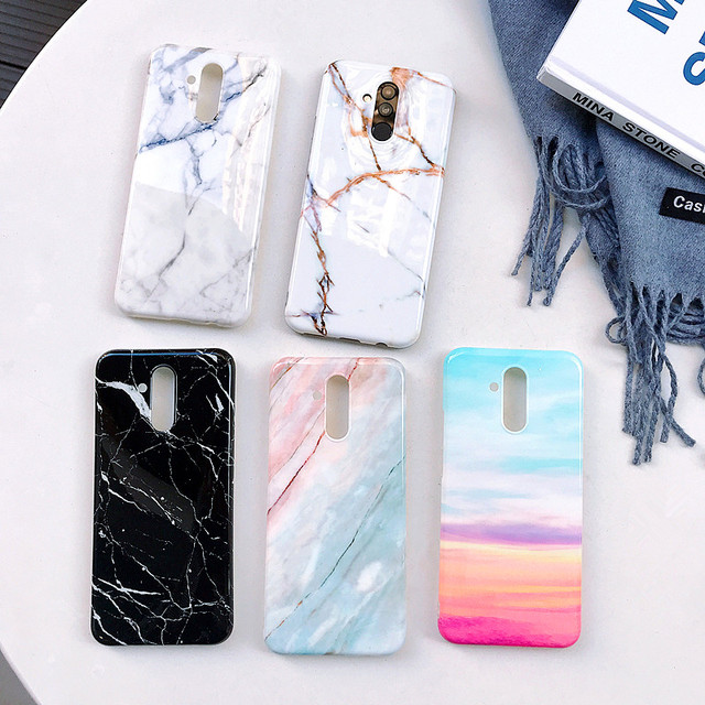 buy online bf295 598d6 US $0.81 20% OFF|Etui Huawei P20 Pro Marble Case on sFor Coque Huawei P20  P20 Lite Case Soft Silicone Cover for Fundas Huawei P20 Pro Phone Cases-in  ...