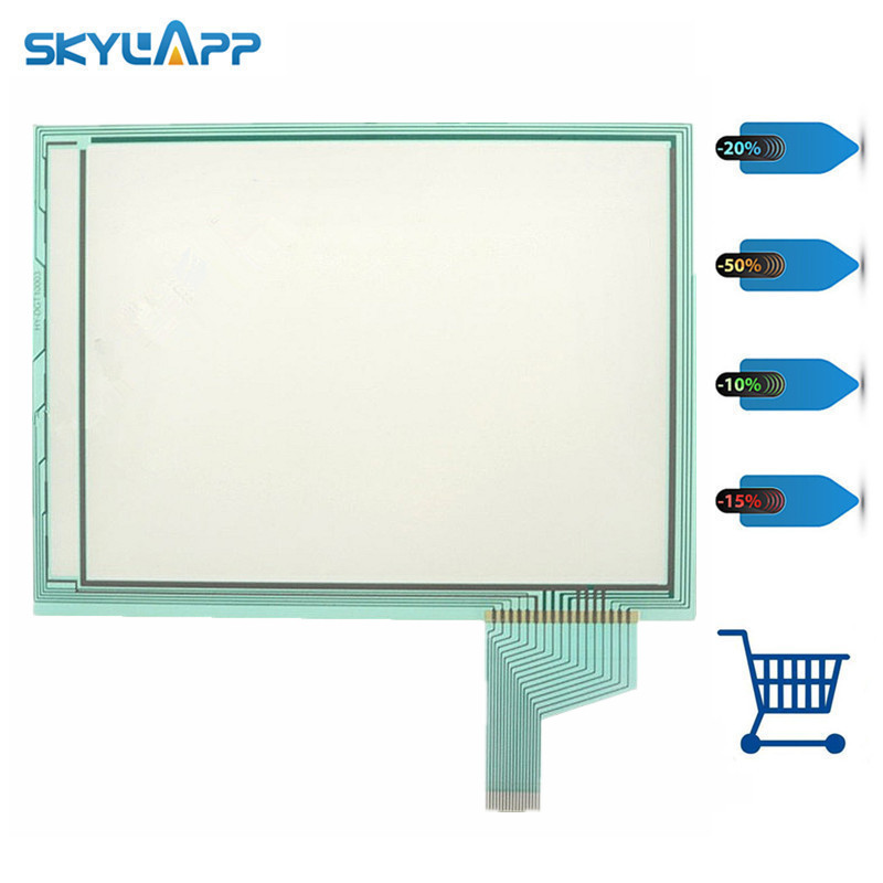 Skylarpu Industrial control equipment touch screen for V808ISD V808SD V808ICD V808CD digitizer panel glass Free shipping original touch for v808isd v808sd v808icd v808cd for touch screen panel glass monitor kit touch overlay new