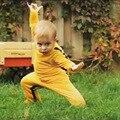 2017 марка Новинка комбинезон китайский Kongfu Брюс ли мальчик одежда 0-24 М 100% хлопок супер качество ropa bebes детские костюмы