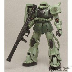 Image 2 - OHS Bandai RG 04 1/144 MS 06F Zaku II Mobile Suit Model Assemblage Kits oh