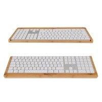 Samdi Wood Bluetooth Keyboard Stand Holder for Apple 2017 Magic Keyboard with Numeric Keypad MQ052LL/A A1843